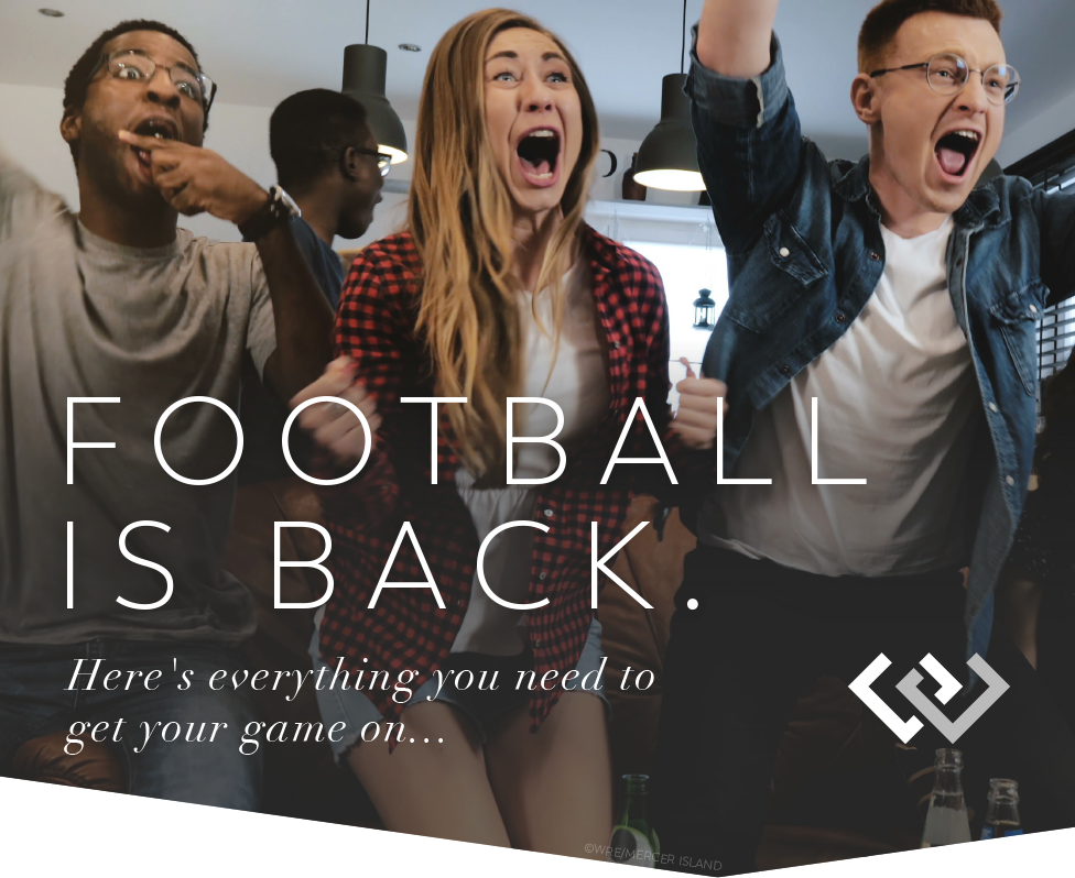Football is Back: Here's Everything You Need to Get Your Game On...